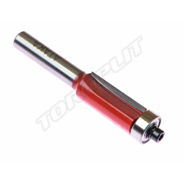Фреза кромочная прямая d-8 х 12,7 мм Атака 301127-2