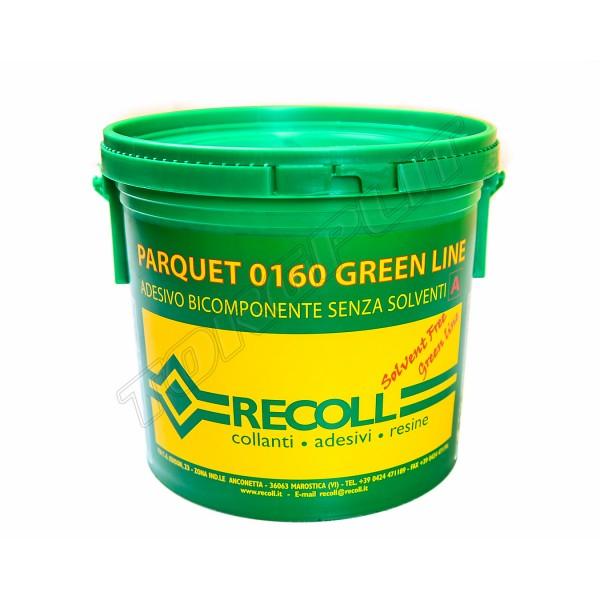 Клей для паркета Recoll  0160 green line 2K (9+1) кг