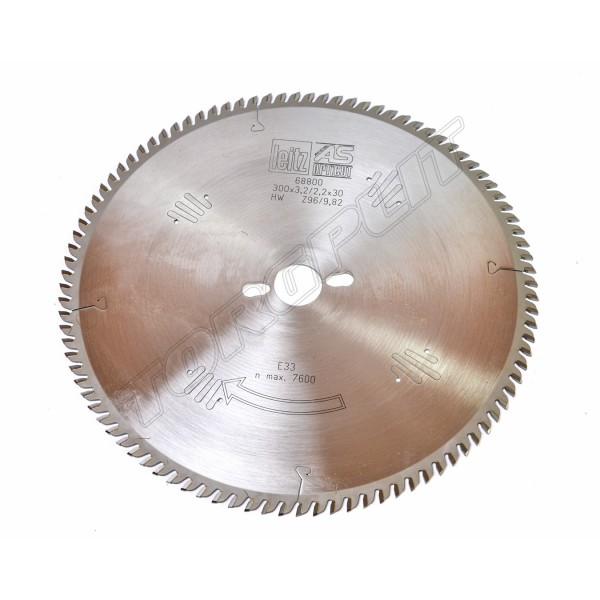 Пила дисковая HW:300x3.2x30,Z96,FZ/TR 68800 LEITZ