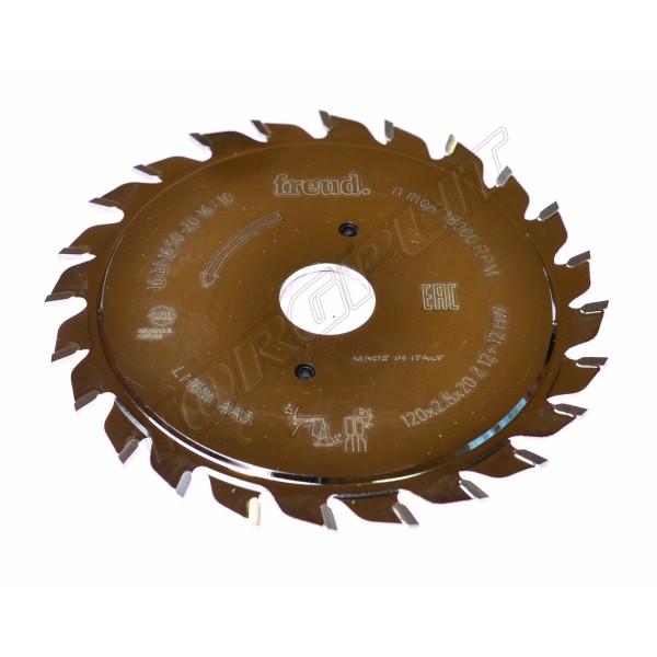 Пила дисковая LI16M AA3 120d20z12+12 FREUD