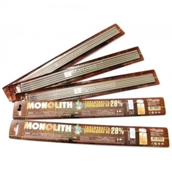 Электроды Монолит РЦ ТМ Monolith д.3мм блистер 5шт.