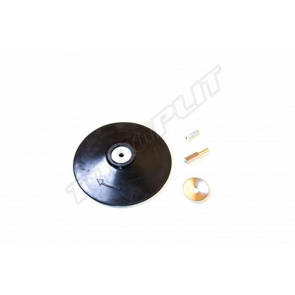 Диск д/дрели резиновый с липучкой 125мм 18-990