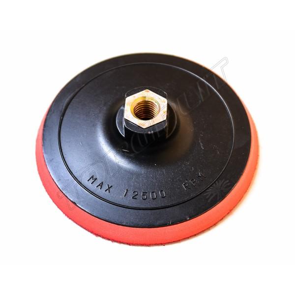 Диск с липучкой для дрели и УШМ 125мм 18-997