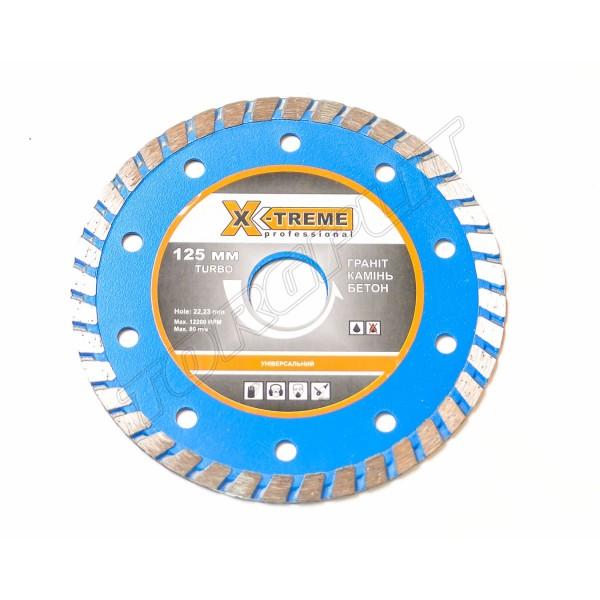 Круг алмазный Turbo 125x7x22.225  X-TREME