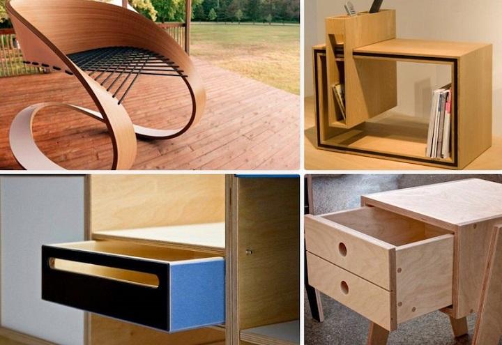 Идеи для мебели из фанеры